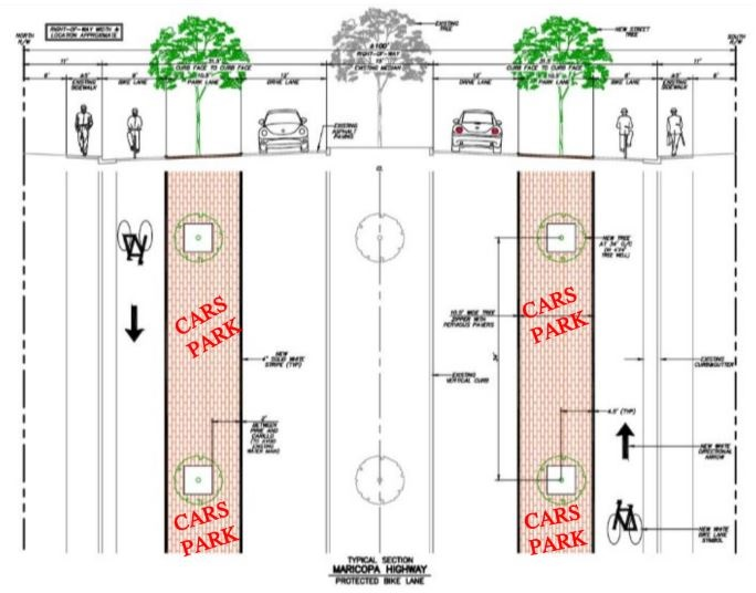CITY PLAN FOR MARICOPA HWY